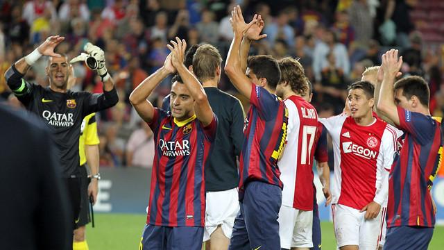 Barça-Ajax. PHOTO: MIGUEL RUIZ-FCB.