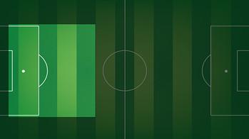 Area of the field where Gerard Piqué Bernabeu plays