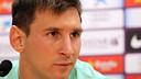 Leo Messi / PHOTO: ARXIU FCB