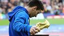 Leo Messi va oferir la Bota d'Or al Camp Nou / FOTO: MIGUEL RUIZ - FCB