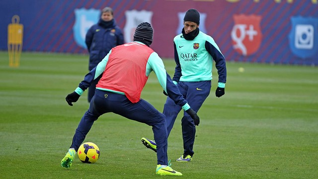 Neymar. Training session PHOTO: MIGUEL RUIZ