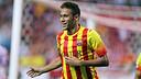 Neymar celebrates a goal / PHOTO: MIGUEL RUIZ-FCB