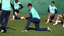 Neymar in training on Saturday morning / PHOTO: MIGUEL RUIZ – FCB
