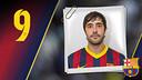 Imatge oficial d'Entrerríos amb la samarreta del FC Barcelona