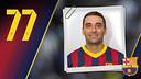 Imatge oficial de Lazarov amb la samarreta del FC Barcelona