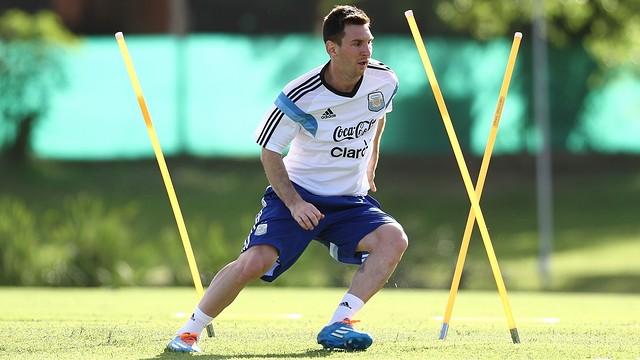 Leo Messi in Argentina