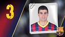 Imatge oficial de Marc Gual amb la samarreta del FC Barcelona
