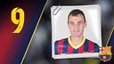 Imatge oficial de Panadero amb la samarreta del FC Barcelona
