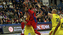 Sonny Weems, en una acció del partit. FOTO: EUROLEAGUE