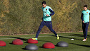 Busquets in Sundays training session PHOTO: MIGUEL RUIZ-FCB.