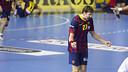 Viran Morros,uno de los azulgranas que jugará el Europeo / FOTO: ARCHIVO - FCB