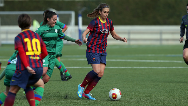 Alexia scored to make it 2-0 against Rayo