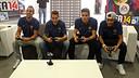 Els jugadors del primer equip, durant els partits realitzats. FOTO: MIGUEL RUIZ - FCB