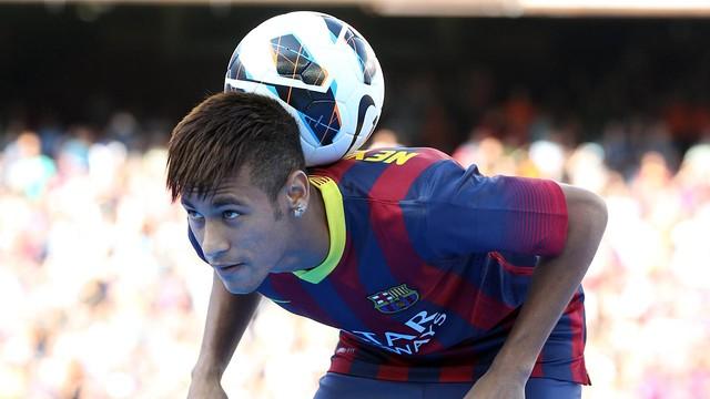 Neymar. Camp Nou