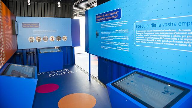 Exposició de consum responsable al Camp Nou.