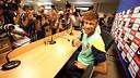 Neymar, en una roda de premsa. FOTO: MIGUEL RUIZ-FCB.