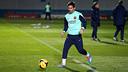 Leo Messi torna a entrenar-se amb l'equip / FOTO: MIGUEL RUIZ - FCB