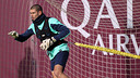 Valdés in the final session of 2013 / PHOTO: MIGUEL RUIZ-FCB.