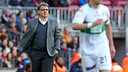 Gerardo Martino during the match. PHOTO: MIGUEL RUIZ - FCB