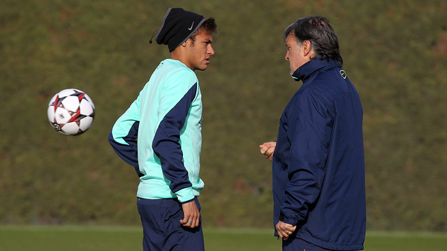Neymar Jr willl be missing against Getafe / PHOTO: MIGUEL RUIZ - FCB