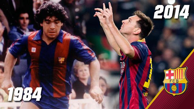 Maradona - Messi