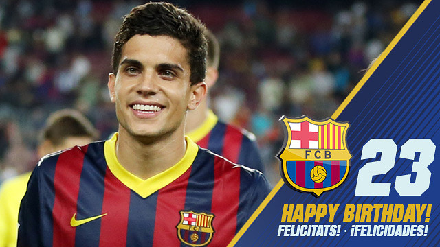 Marc Bartra is 23 today