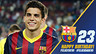Bartra image with the number 23, birthday greetings and the Club crest