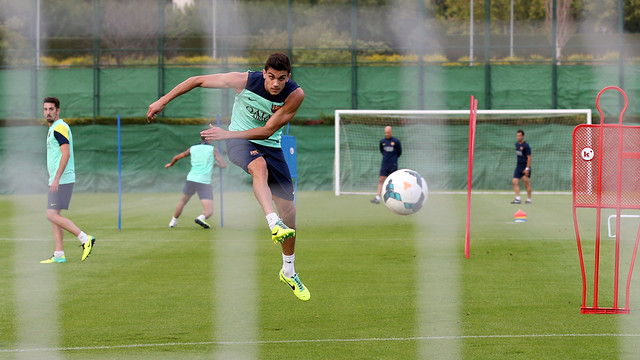 Marc Bartra. PHOTO: MIGUEL RUIZ-FCB