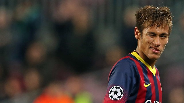 Neymar contra o Celtic na Champions League