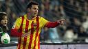 Leo Messi in action / PHOTO: MIGUEL RUIZ-FCB
