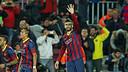 Gerard Piqué vs Malaga / PHOTO: MIGUEL RUIZ - FCB
