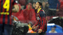 Adriano scored against Levante in the cup. PHOTO: MIGUEL RUIZ-FCB.