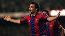 Juan Antonio Pizzi scored Barça's incredible late winner / PHOTO: FCB Archive