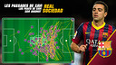 Photomontage of Xavi against Real.