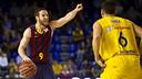 Huertas and Uriz will face each other again tonight / PHOTO: VÍCTOR SALGADO-FCB