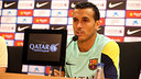Pedro gave a press conference on Friday / PHOTO: FCB  ARCHIVE