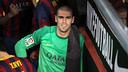 Valdés at the Camp Nou / PHOTO: MIGUEL RUIZ-FCB