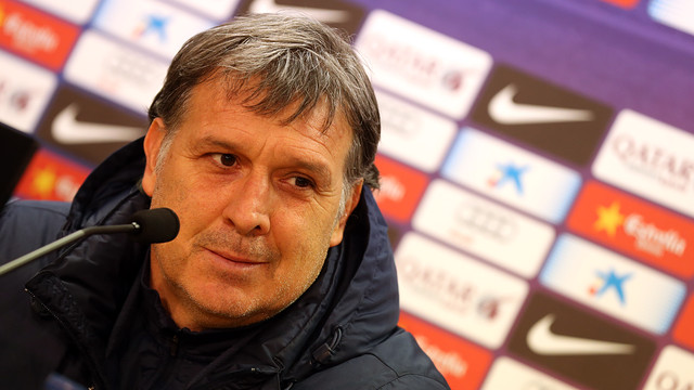 Gerardo Martino / PHOTO: MIGUEL RUIZ - FCB