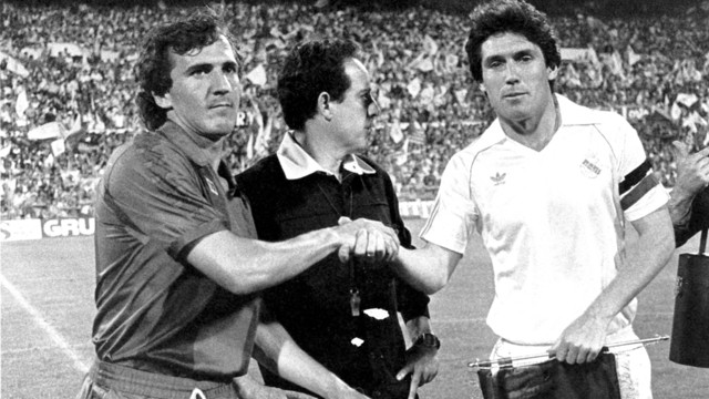 Barça and Real Madrid met in the final in 1983 / PHOTO: FCB ARCHIVE