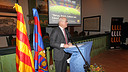Carles Vilarrubí will be giving a lecture in Manchester / PHOTO: FCB ARCHIVE