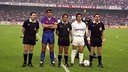 FC Barcelona and Real Madrid met in the 1990 cup final / PHOTO: FCB ARCHIVE