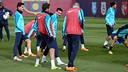 Leo Messi in training this Saturday / PHOTO: MIGUEL RUIZ - FCB