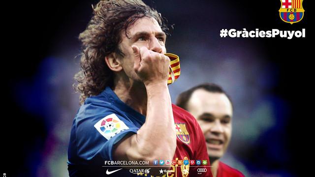Carles Puyol, el gran capità del FC Barcelona