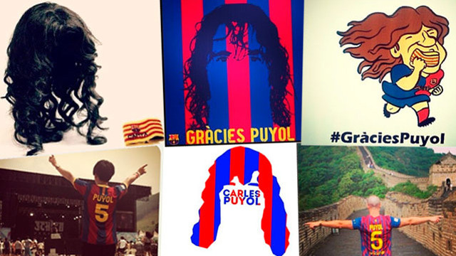 #GràciesPuyol reaction on Social networks