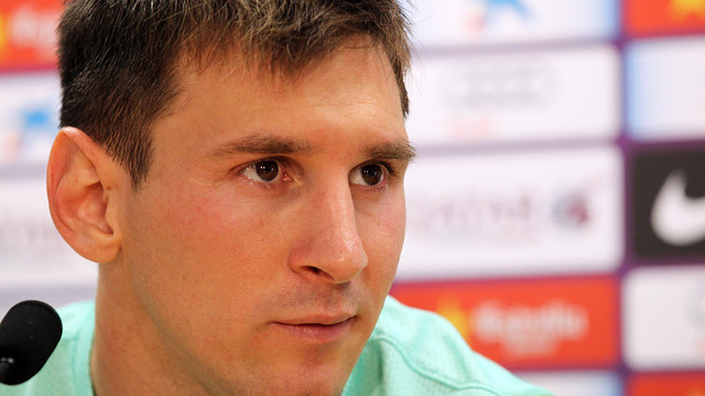 Leo Messi/ PHOTO: ARXIU FCB