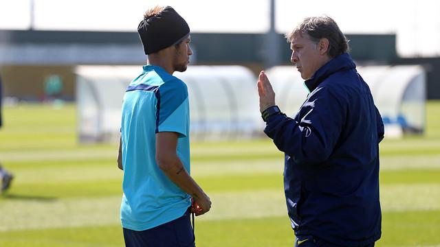 Martino was concerned about Neymar's condition / PHOTO: MIGUEL RUIZ-FCB