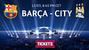 Barça v City tickets