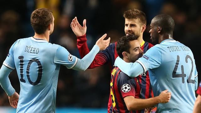 Manchester City-Barça. FOTO: MIGUEL RUIZ-FCB.