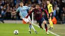 Jordi Alba and Jesús Navas face each other again tonight. / PHOTO: MIGUEL RUIZ-FCB