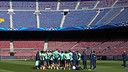 Barça have trained one last time before the game with City / PHOTO: MIGUEL RUIZ - FCB